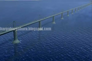 Ide Dahsyat Jembatan Antar Benua Asia dan Amerika