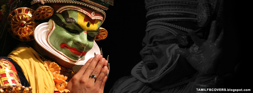 my india fb covers kathakali dance fb cover
