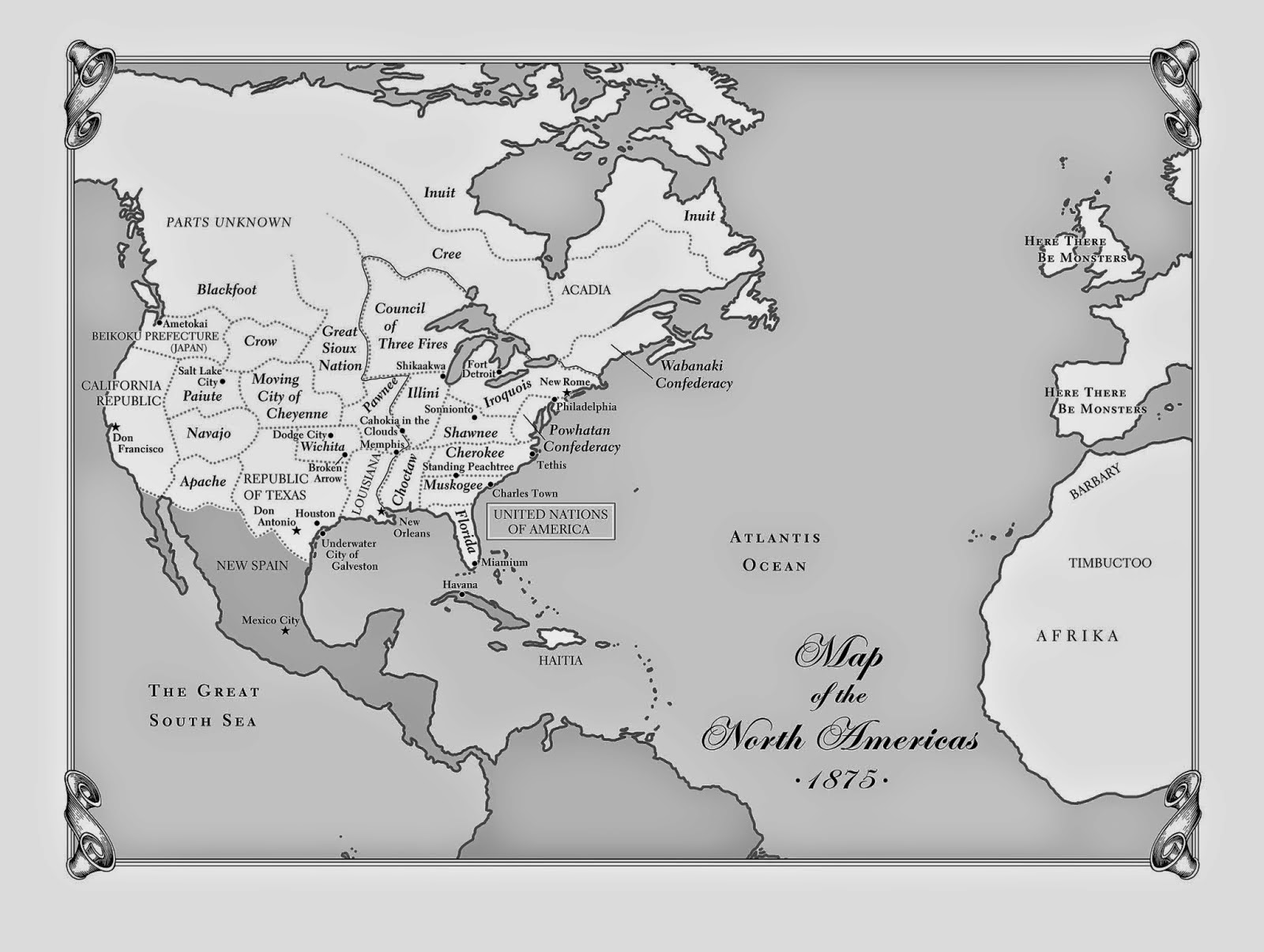 first up alan gratz s maps of the united nations of america that gets the nod for the best map published in a book