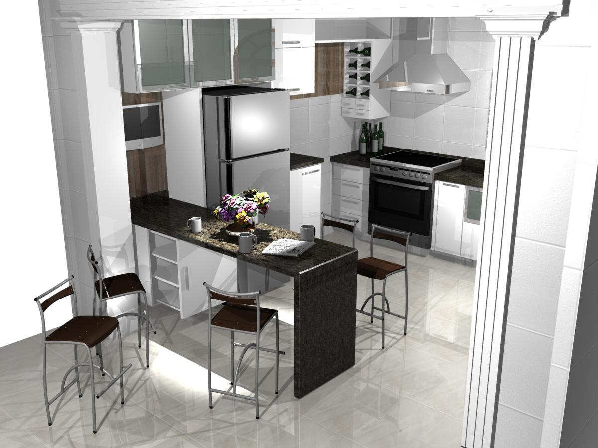 pequenas cozinhas planejadas preto e branco grande bonitas moderna #654561 1199 899