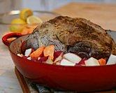 Lamb Roast with Lemon & Oregano