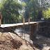 Aleg PKS Bantu Pembangunan Jembatan di Bondowoso