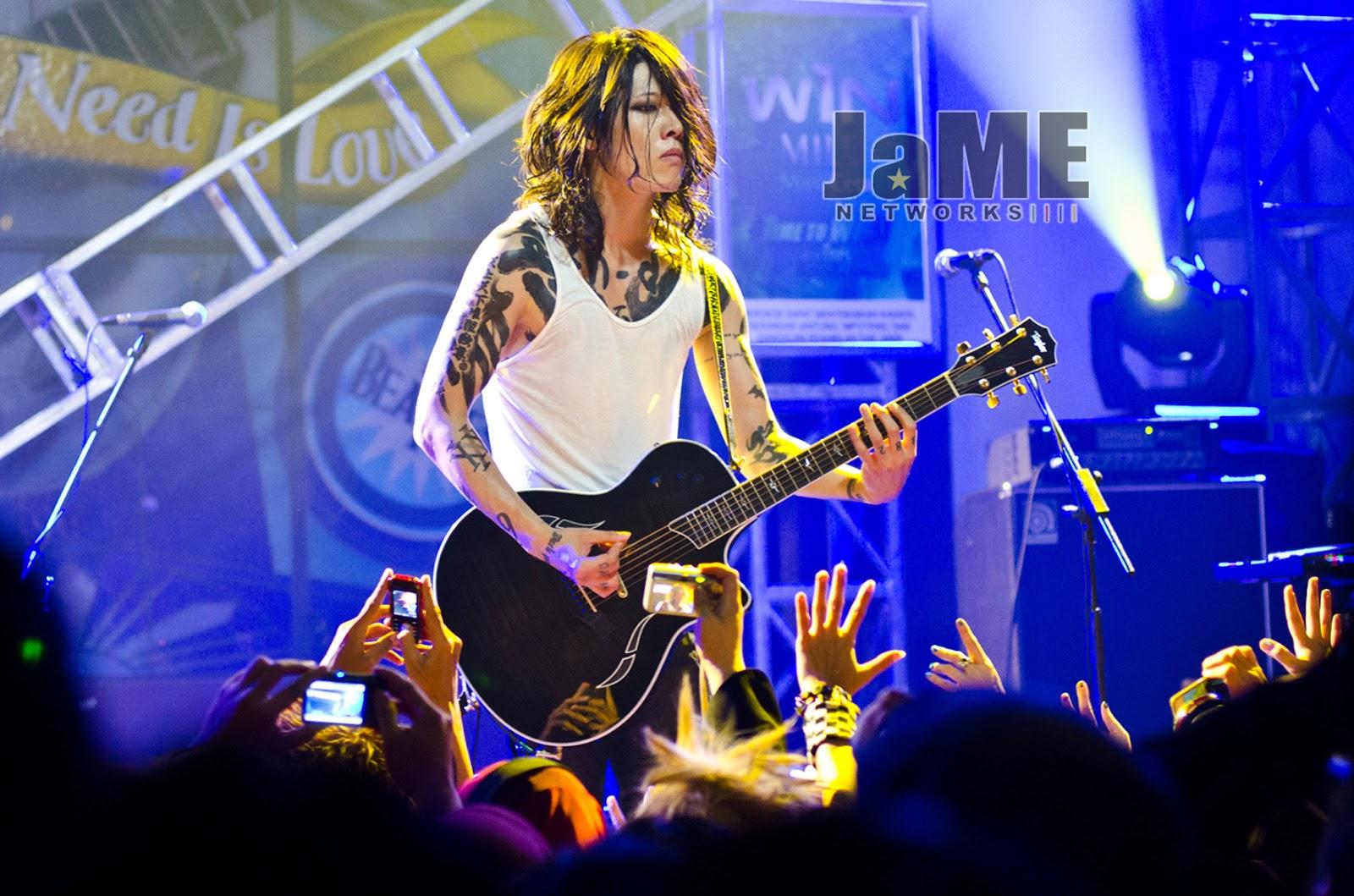 ライブハウス Miyavi Live At Hard Rock Cafe Jakarta