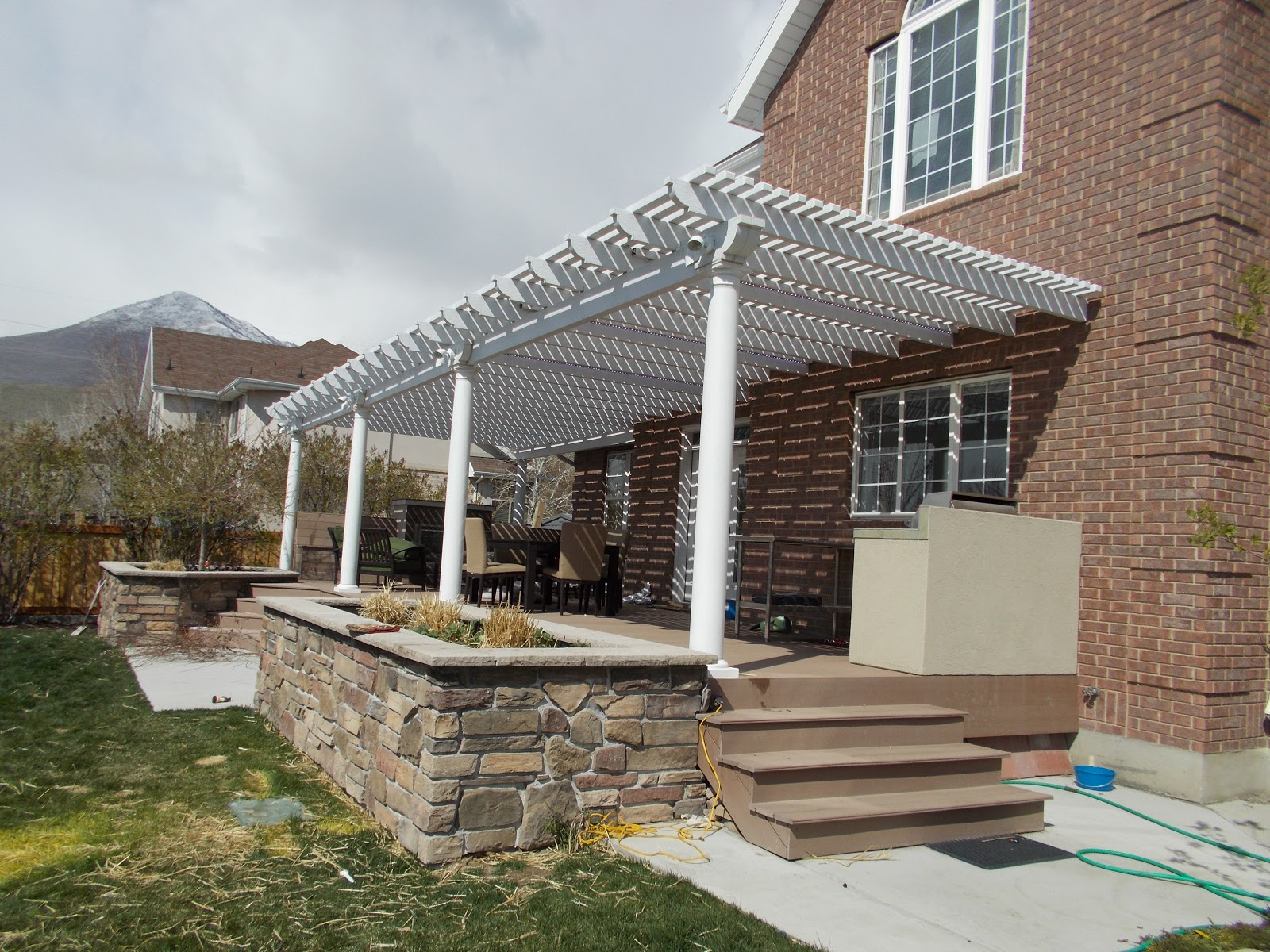 Metal Patio Awnings Pergolas