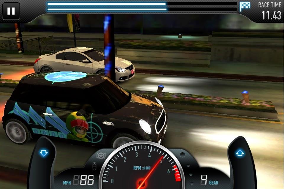 Download CSR Racing Apk game drag race 3D untuk Android dan iOS
