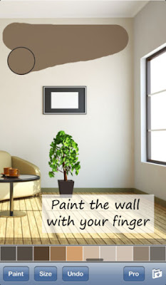 تطبيق Paint My Wall للآى فون و الآى باد