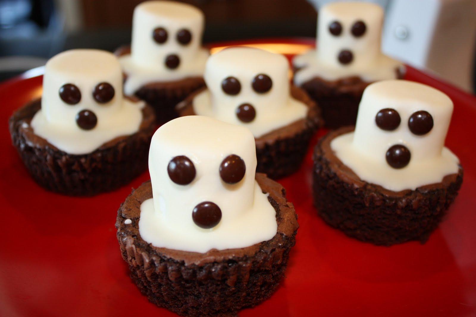 My Treadmill Is Broken: Halloween Ghost Brownies