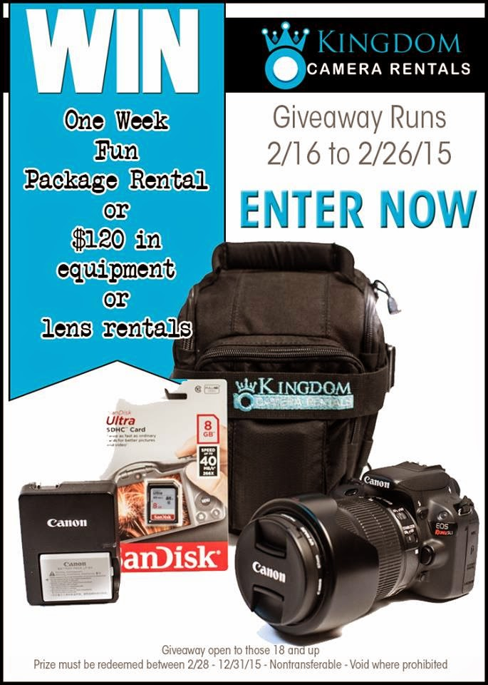 Why would you want to rent a camera for Disney? Great reasons to rent, and a giveaway! LoveOurDisney.com