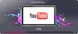mengunggah video ke youtube