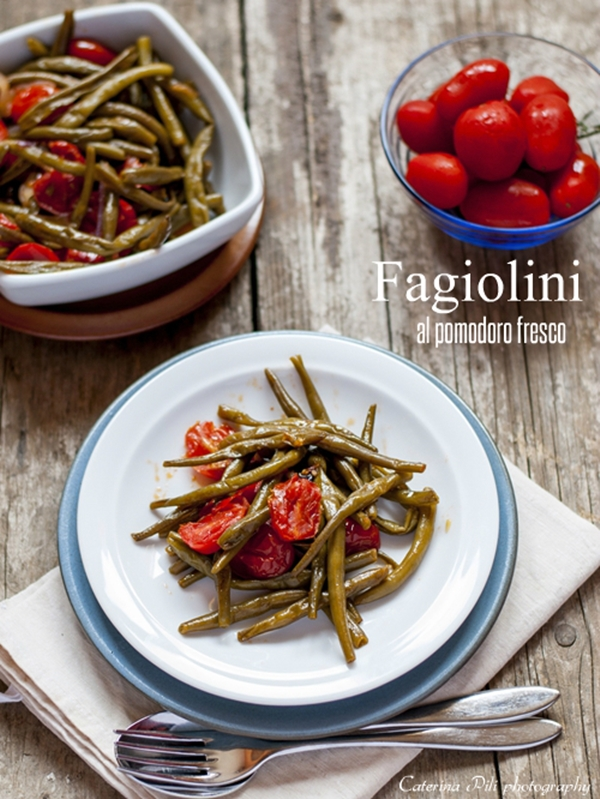 Fagiolini al pomodoro fresco