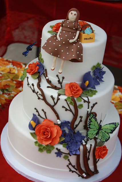 Fall Baby Shower Cakes http://thegoodapple.blogspot.com/2011/11/fall-baby-shower-cake.html
