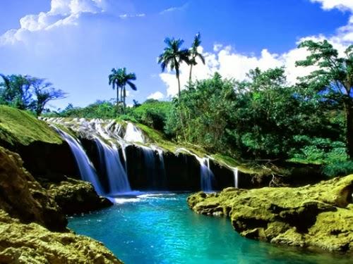 Pemandangan indah - ilustrasi surga (devianart.net)