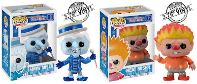 The Year Without A Santa Clause Pop! Holidays Series 1 - Snow Miser & Heat Miser Vinyl Figures