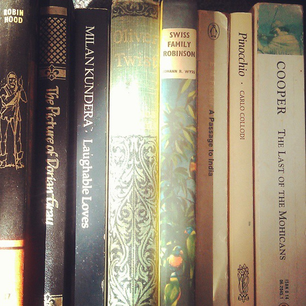 Old classic books - part of a photo-a-day project for May