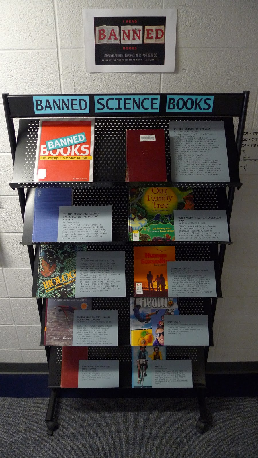 Aqualog Banned Books Week Science Edition
