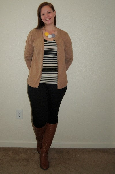 Stay-At-Home Mom Style: The Cardigan Uncertainty