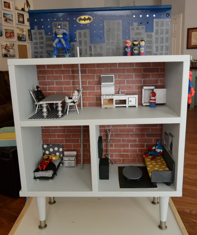 cheap dollhouse furniture. You Can Read More About The Super Hero House Here. Cheap Dollhouse Furniture