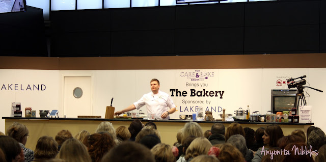 Peter Sidwell at Cake and Bake Show Manchester