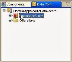 View en el DataControl Palette