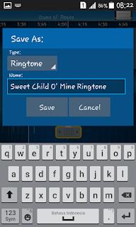 Tips Membuat Ringtone Dari Potongan Lagu Di Android