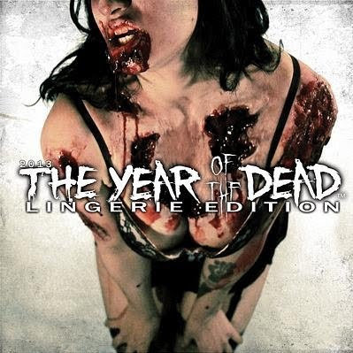 Year of the Dead Zombie Lingerie: Calendario Zombie 2013
