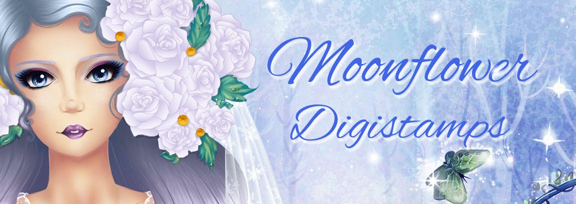 MoonFlower Digistamps