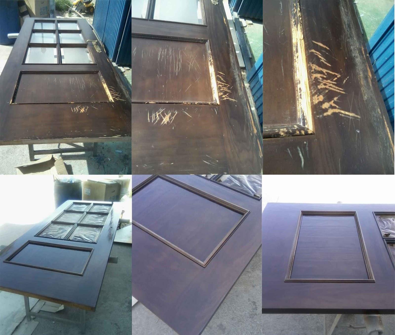 Manuel j padilla arte restauracion for Restaurar puertas de madera interior