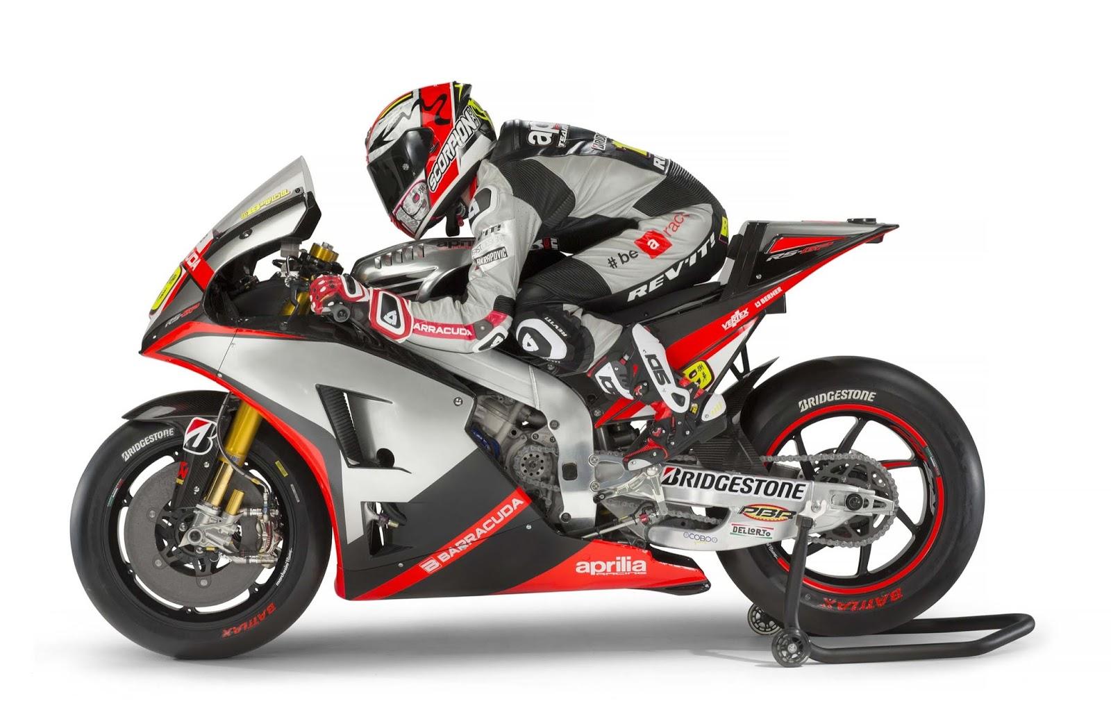 MotoGP : Ini livery tim Aprilia Gresini di MotoGP musim 2015 . . plus foto galeri