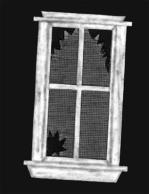 broken window of a haunted house free clip art for scrapbooking high resolution broken glass