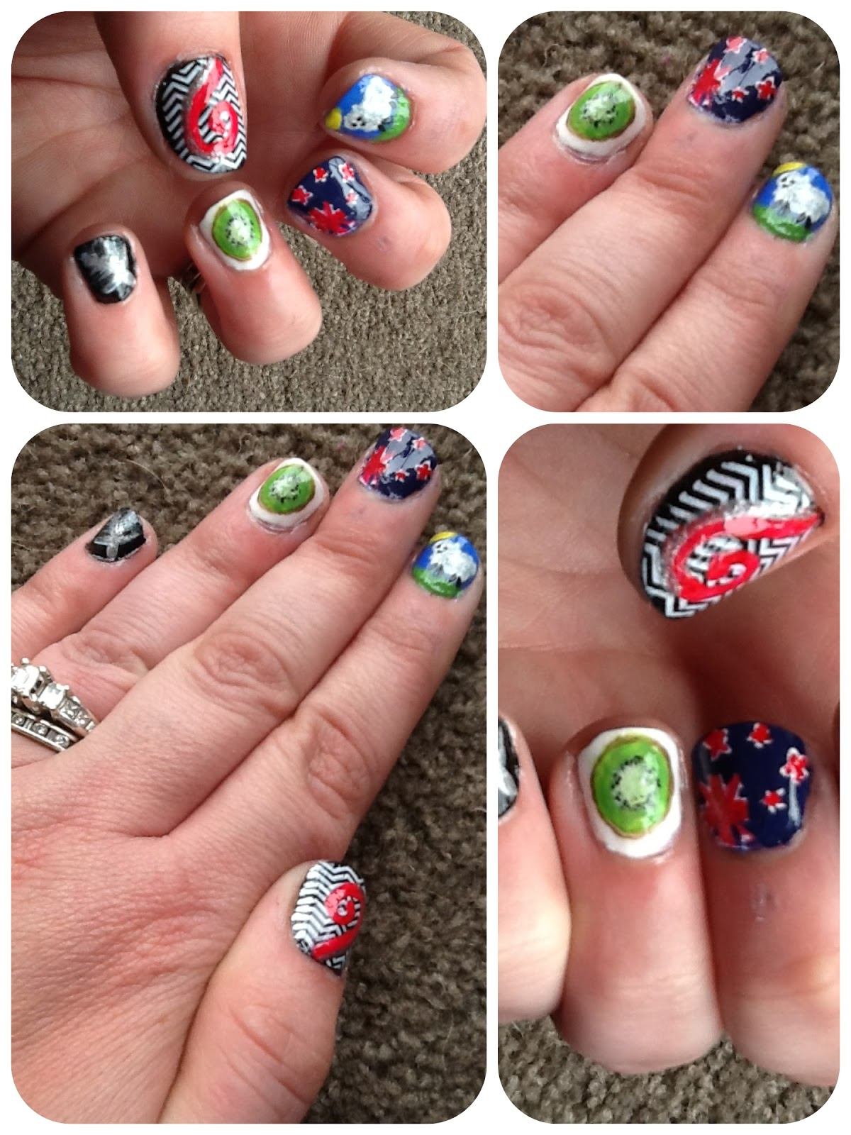 Nz nail art competition winner prinsesfo Images