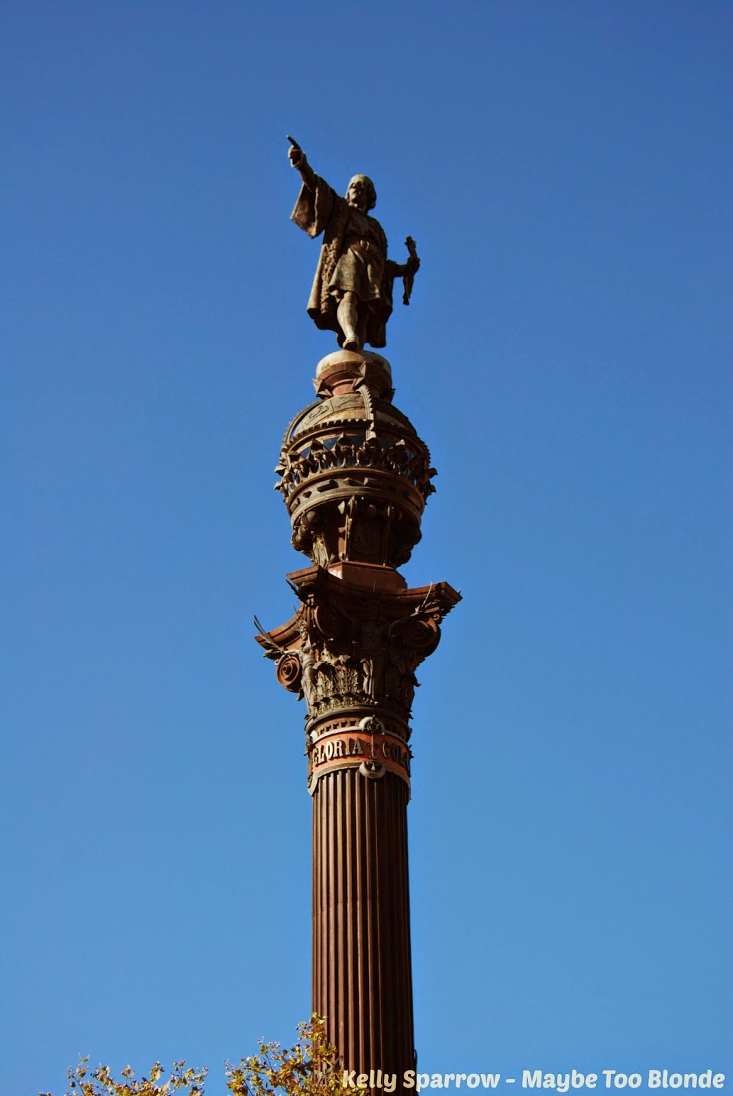 Christopher Columbus statue, Barcelona