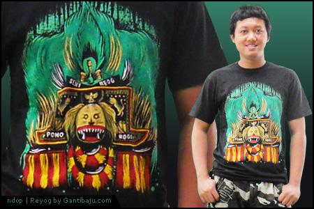 Kaos Reyog by Gantibaju.com