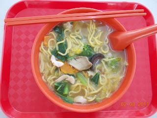 Mushroom Mee Soup, S$ 3.00
