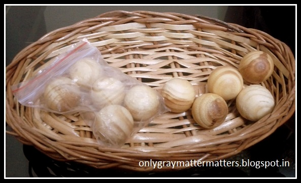Fragrant Camphor Wooden Moth Balls buyincoins