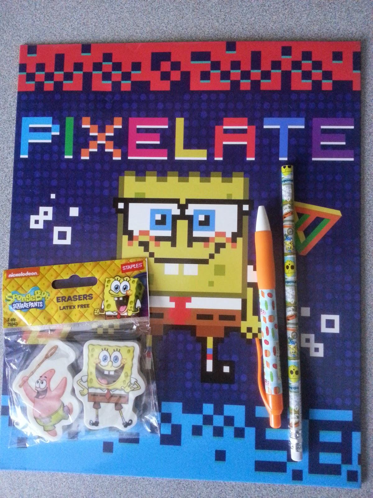 SpongeBob SquarePants School Supplies