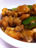 Microwave Kung Pao Chicken
