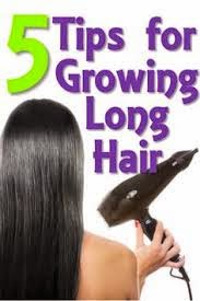 Tips for Long Hair in English