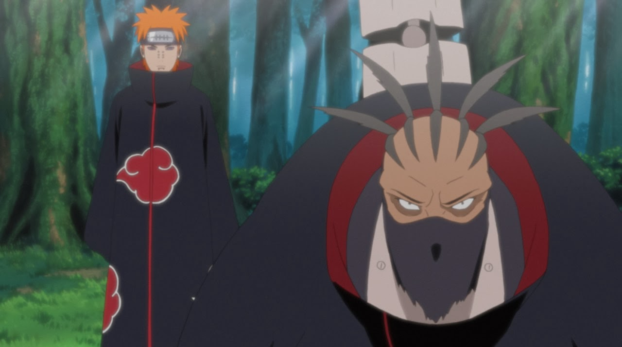 Naruto Storm Revolution Origins of Akatsuki Pain and Sasori