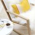 Inspiración en blanco, amarillo y madera natural Wood white and yellow inspiration