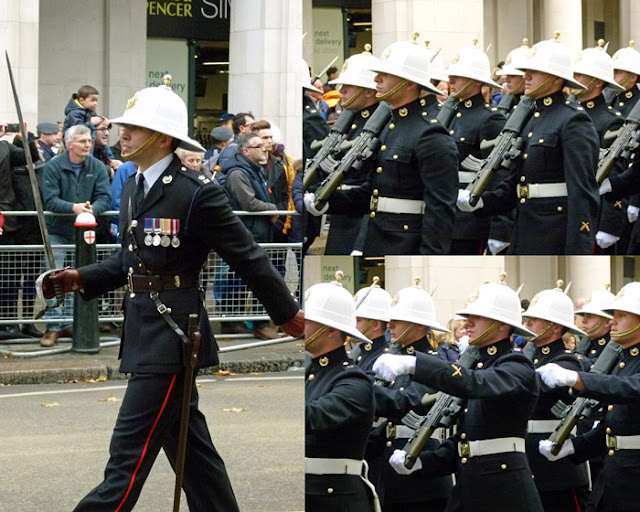 Lord Mayor's Show, Britain's armed services, Royal Marines
