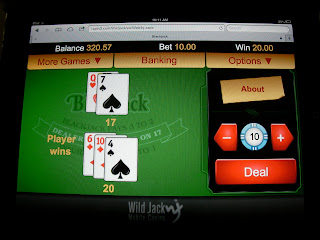 blackjack table on ipad casino