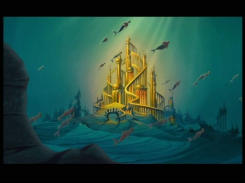 Underwater Mermaid Castle The Sunshine of My Sou...
