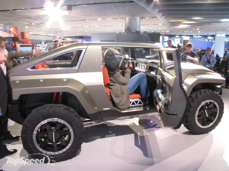 hummer vehicles - hummer h4 - new wehicles - luxury suv