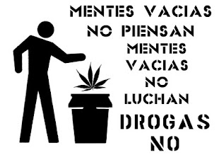 NO a la legalizacion de drogas.