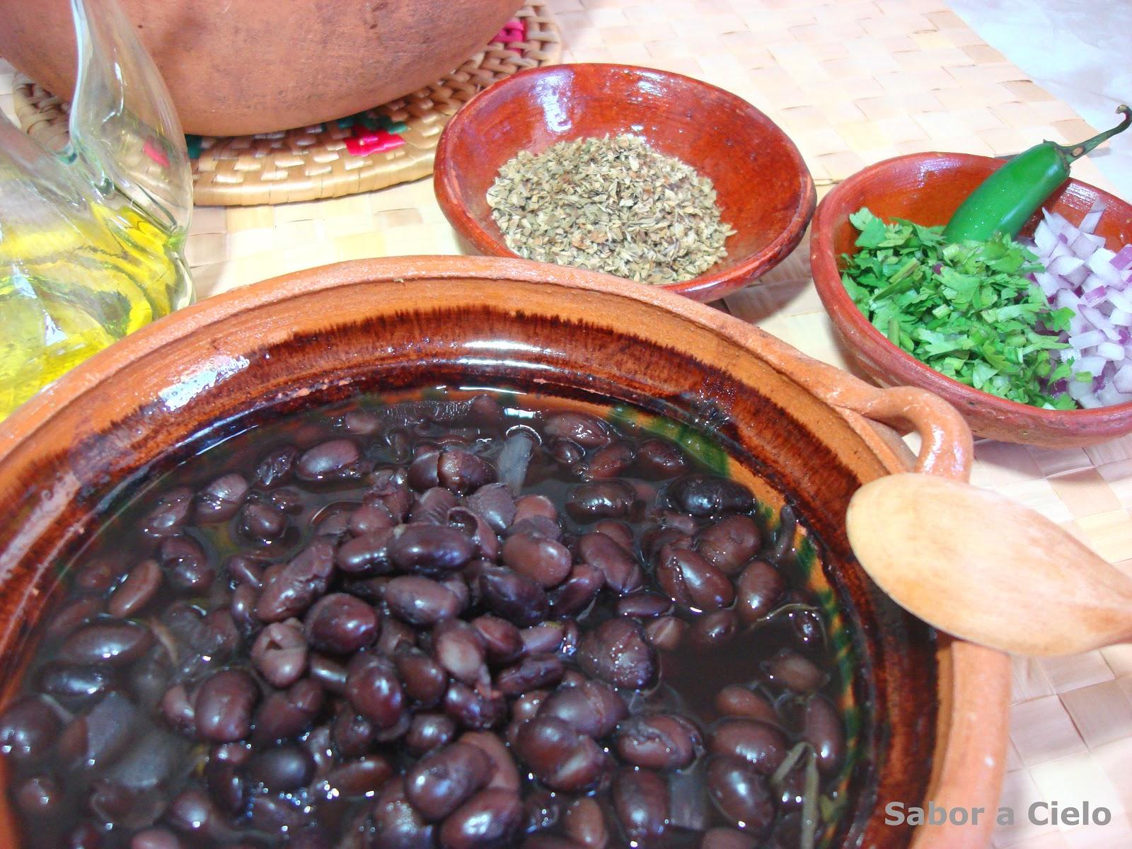 Frijoles de la Olla Receta Mexicana Frijoles de la Olla