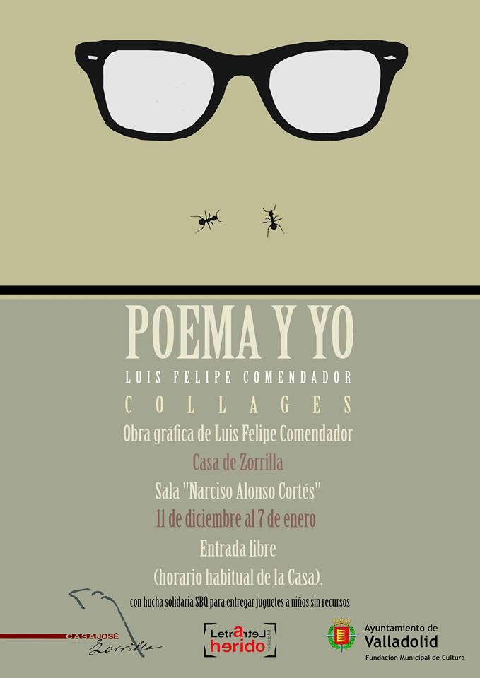 Poema y yo. Obra gráfica de Luis Felipe Comendador