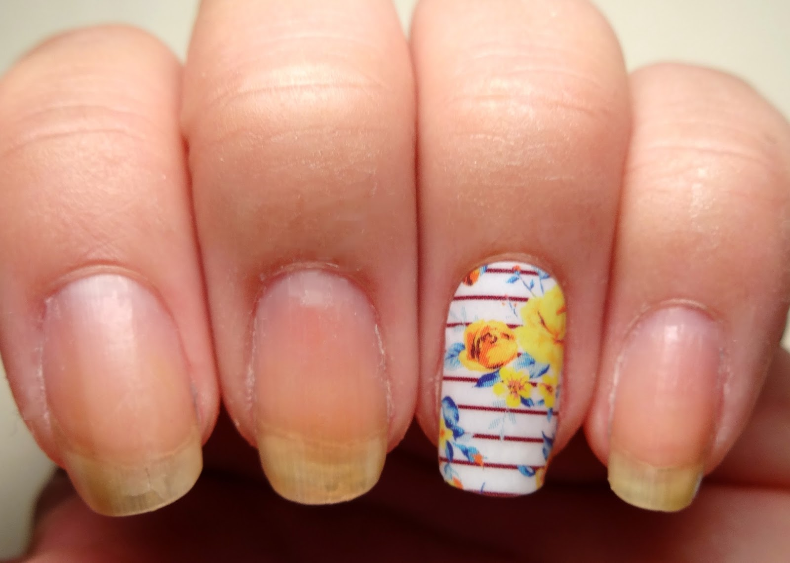 Apply Wrap to Nail