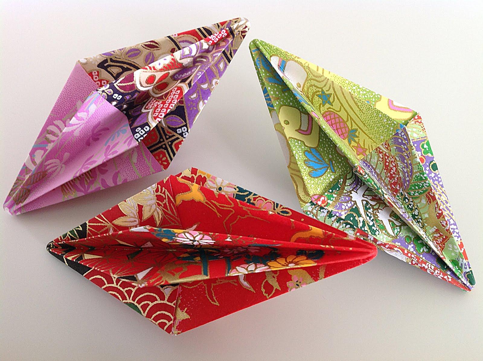 Origami-prismer