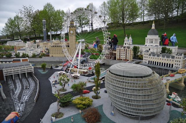Windsor+Legoland+Mini+Land+London+Eye+City+Hall+Westminster+BT+Tower