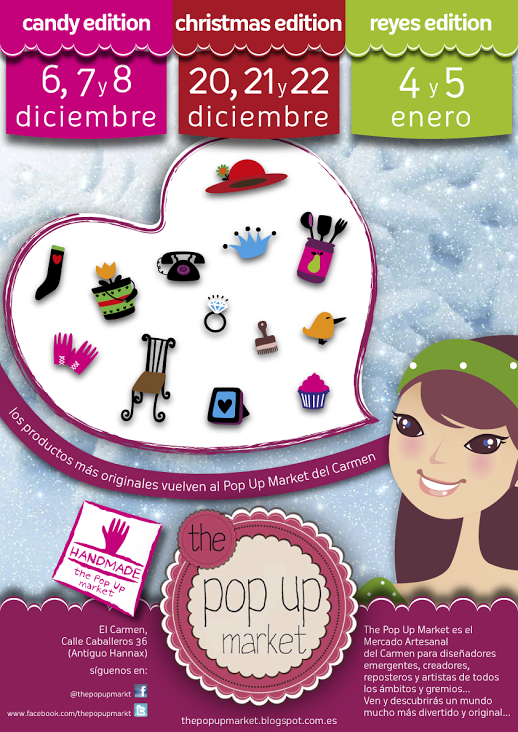 THE POP UP MARKET - valencia, diciembre 2013 y enero 2014